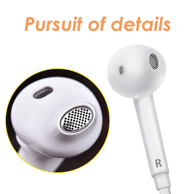 Headphones Music Earbuds Stereo Gaming Earphone for Phone 4