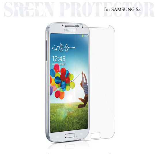 Tempered Glass Film For Samsung S4 i9500 i9505 ExplosionProof Screen Protector for Galaxy S4 i9500 Screen guard Protective Film>