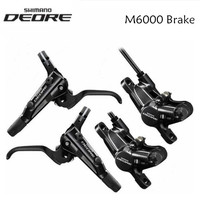 SHIMANO DEORE M6000 Hydaulic MTB Bicycle Disc Brake 800mm/1400mm Front & Rear bike brake with J02A Ice Cold Pads