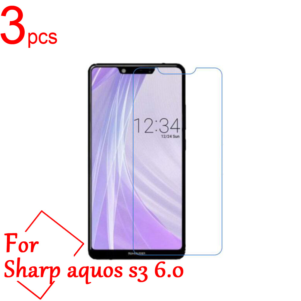 3pcs Ultra Clear/Matte/Nano Anti-Explosion For sharp s3 LCD Screen Protector guard Cover for sharp aquos S2 S3 Protective Film