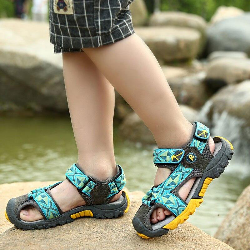 Lato w nowym stylu Dzieci chłopców sandały buty chłopców mody - Obuwie dziecięce - Zdjęcie 3