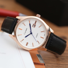2016 Carmis Fashion Casual Mens Watches Top Brand Luxury Leather Business Quartz-Watch Men Wristwatch Relogio Masculino