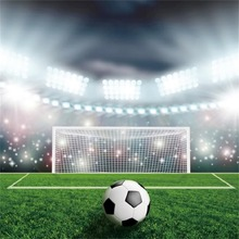 Laeacco Soccer Football Game Scene Photo Backgrounds Customized Photography Backdrops For Studio