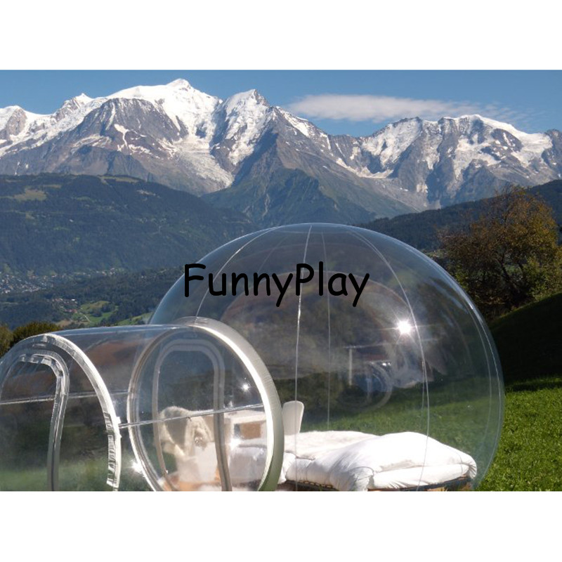 Crystal Bubble Tent,Outdoor Transparent Inflatable Bubble Clear Camping Tents,structure luna tents,gazebo garden tent