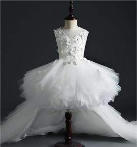 Детское платье для девочек, платье для первого крещения, свадебное платье для маленьких девочек, праздничные платья для дня рождения, наряд...
