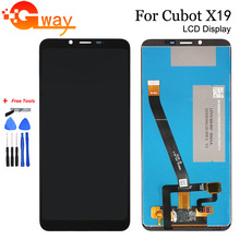 Black 5.93'' For Cubot X19 LCD Display with Touch Screen Digitizer Assembly For Cubot X19 M