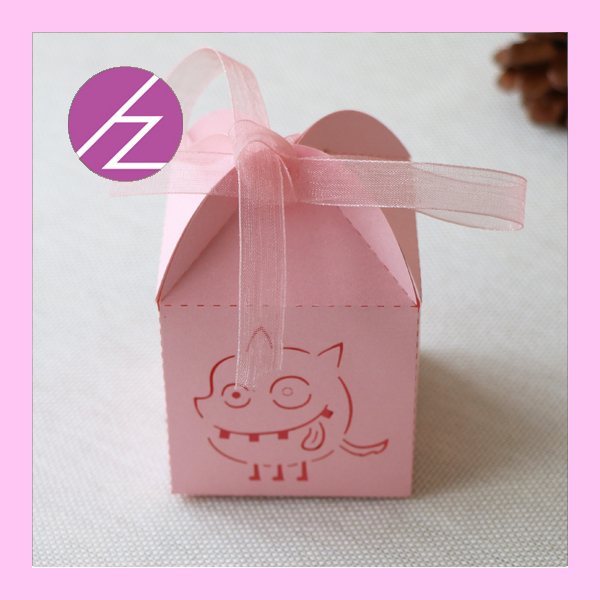 100pcslot Free Shipping Paper Craft Laser Cut Wedding Candy Box