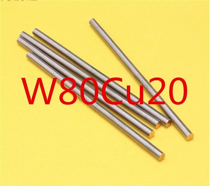 W cu alloy round bar tungsten copper welding