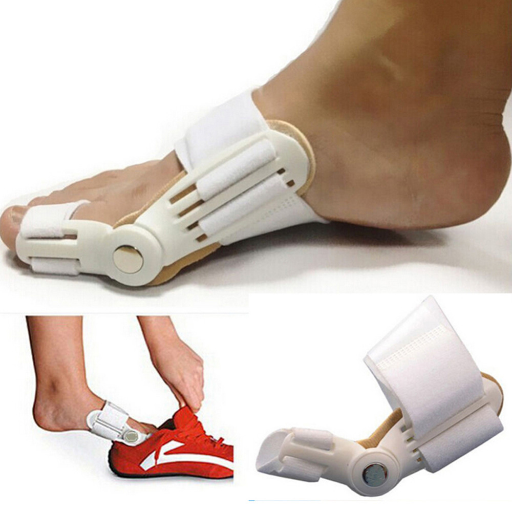 1pc Bunion Splint Big Toe Korektor Hallux Valgus Ravnanje stopal Pain Relief Orthopedic Dan Noč Korekcija Noge Orodje