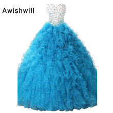 Awishwill Real Photos 16 Ball Gown Prom Dress Party Dress