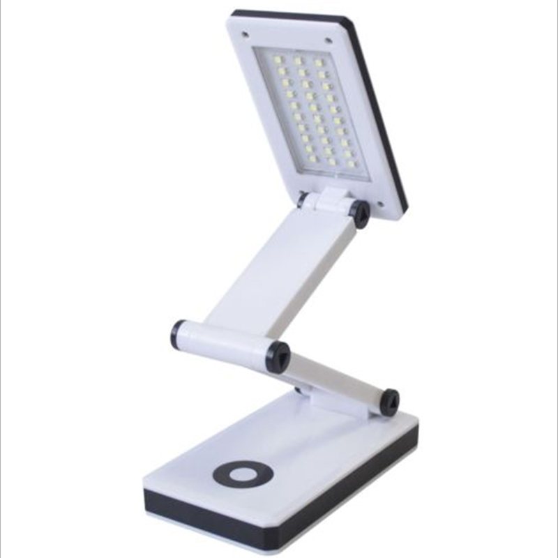 Mabor 30LED SMD Portable Foldable Rechargeable Book Light Desk Table Reading Light Lamp