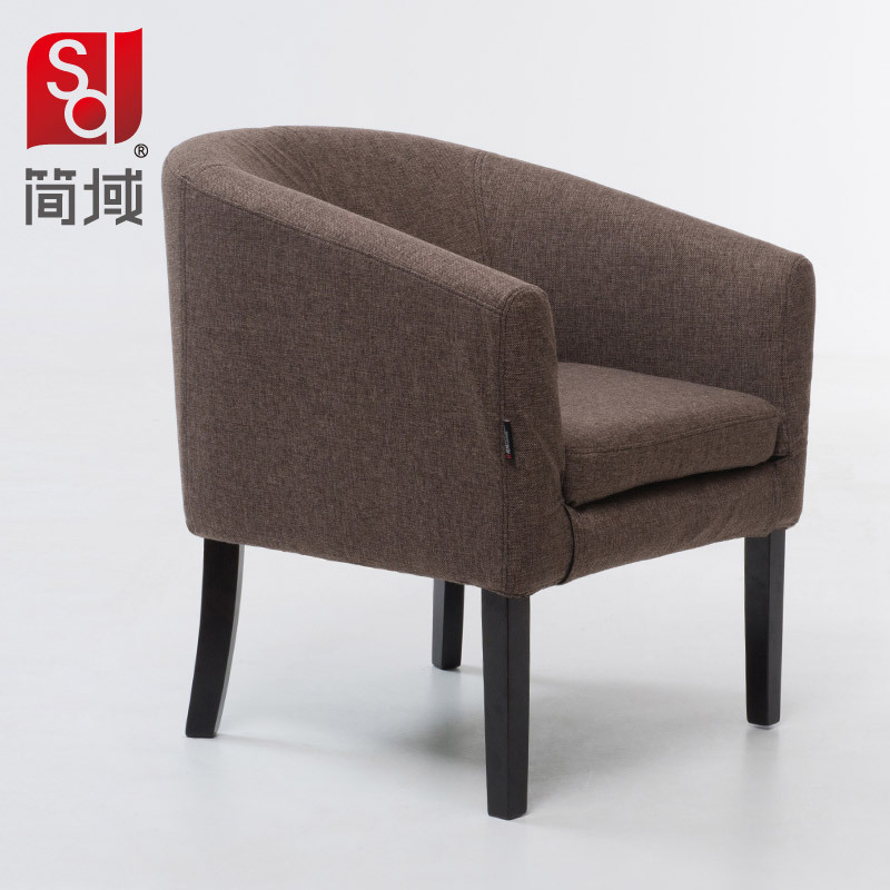 sofa chair ikea ergonomic with ottoman jane domain single dining simple and stylish modern wood cafe negotiations
