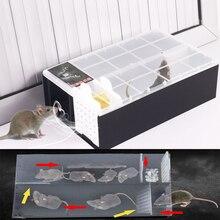 Trap Automatic Continuous Mousetrap Reusable Catch High Effect Rat Traps Catcher Repeller for Home Shop Hotel