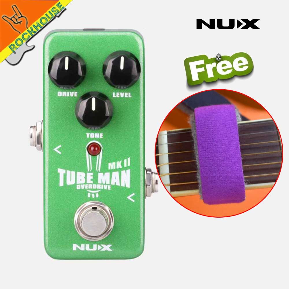 Nux Mini Core Tube Man Analog Overdrive Guitar Effects Pedal Distortion Circuit Diagram More Powerful Than Screamer True Bypass Free Shipping In Parts Accessories