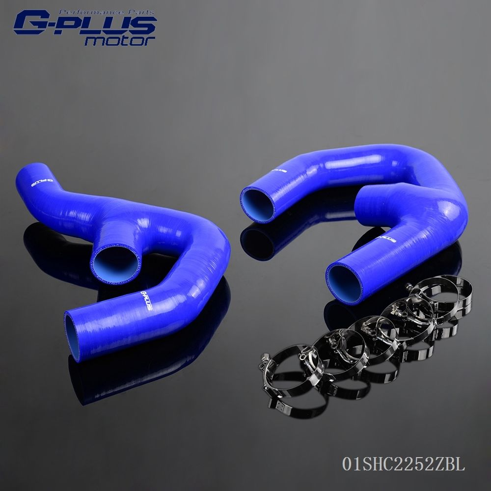 Silicone Intercooler Pipe Hose Kit For VW GOLF MK5 JETTA GTI 2.0 FSi TDI epman intercooler y pipe hose kit for subaru wrx sti gdb ggb 2 0 00 07 ver 7 9 3pcs ep sbt007