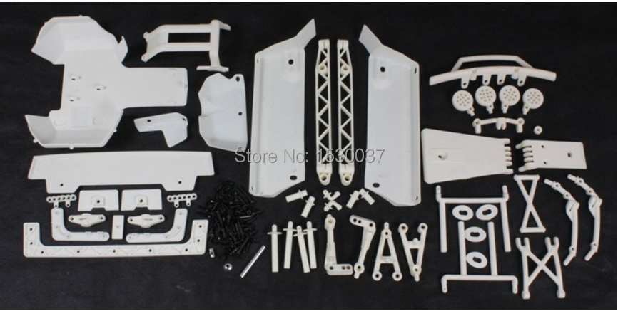 High strength nylon assembly kit for 1 5 scale HPI Rovan Baja 5T 5SC king motor