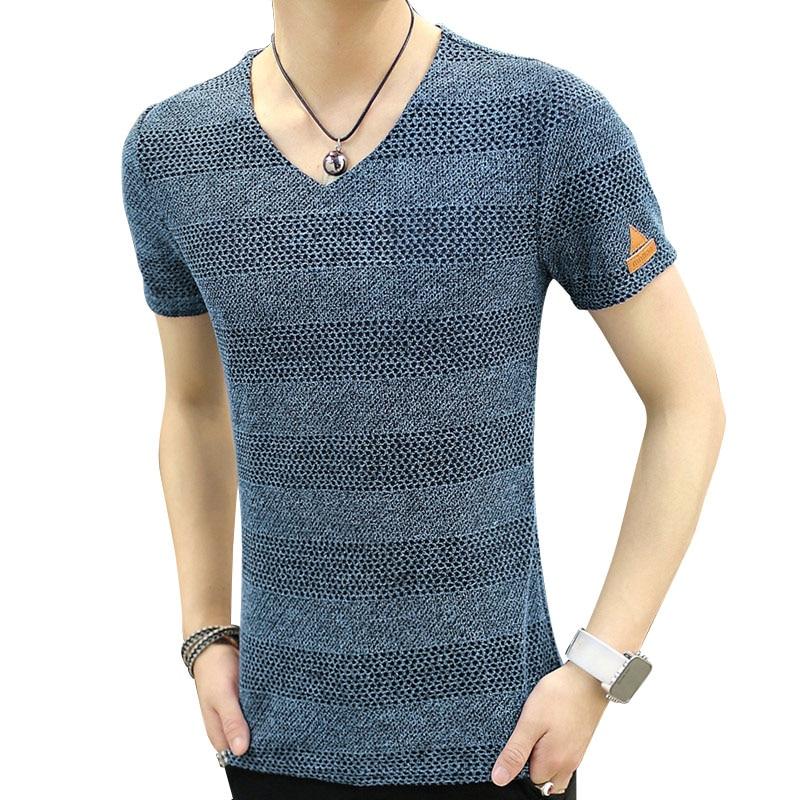 e0bdbd60b 2016 Summer Fashion Design V Neck T Shirts Men Cool T-Shirt Brand Short  Sleeve Tops Tees Male T Shirt plus size Free Shipping