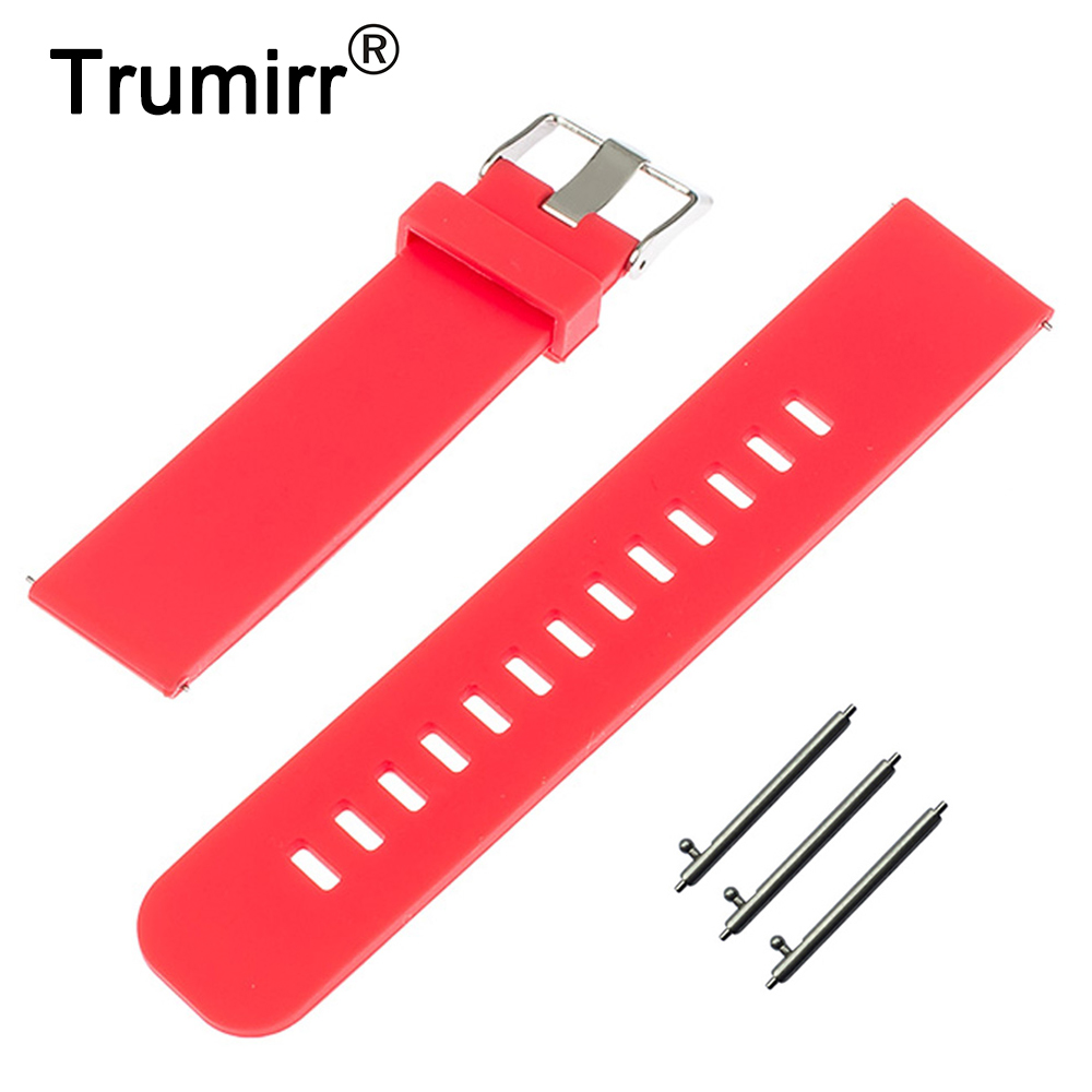 17mm 18mm 19mm 20mm 21mm 22mm Silicone Rubber Watch Band Quick Release for Tissot T035 <font><b>PRC</b></font> <font><b>200</b></font> T055 T097 Strap Resin Bracelet image