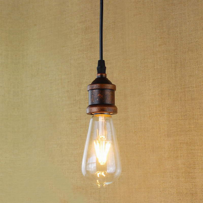 Hanging Pendant Lights Distance From Counter : Recycled retro nostalgic one head hanging pendant lamp