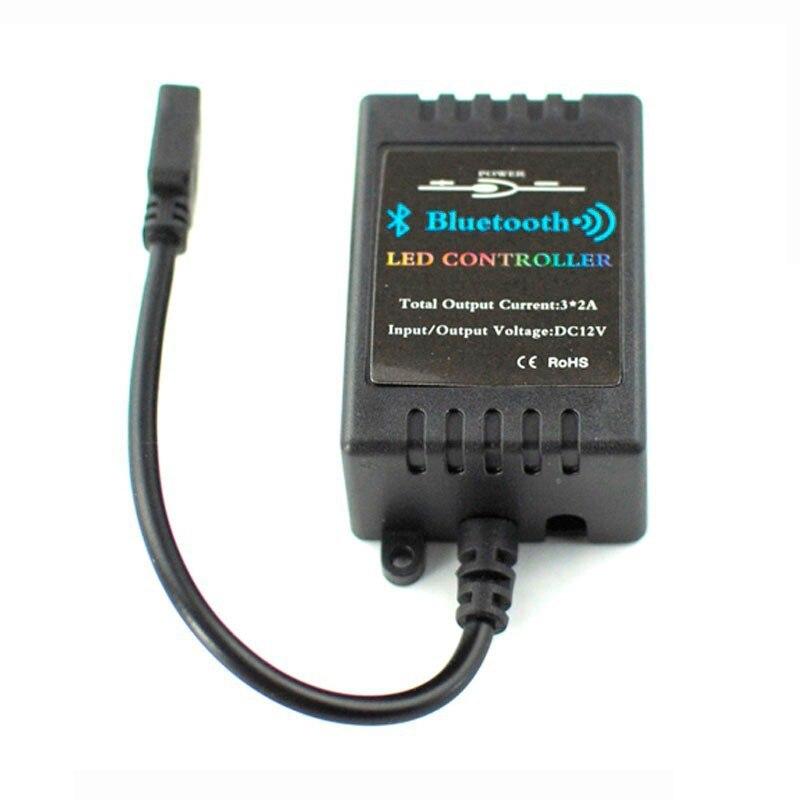 Мини <font><b>Bluetooth</b></font> rgb светодиодные Управление Лер DC12V Управление смартфона IOS/Android сроки музыка режим RGB Управление коробка fone <font><b>Bluetooth</b></font> AUX