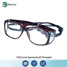 ddb4baee7b6ef Recomendar frontal e lateral médica completa exposição óculos de protecção  contra as radiações 0.75 0.5mmpb chumbo x-ray óculos .