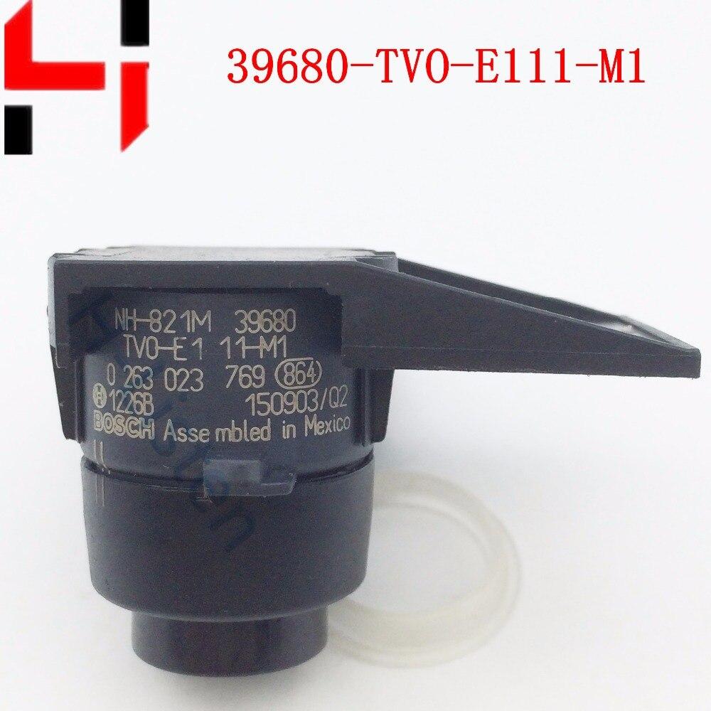 Auto-parktronic 39680-tv0-e11ze pdc einparkhilfe für honda acura rlx cr-v civic 39680-tvo-e111-m1 schwarz silbrig grau