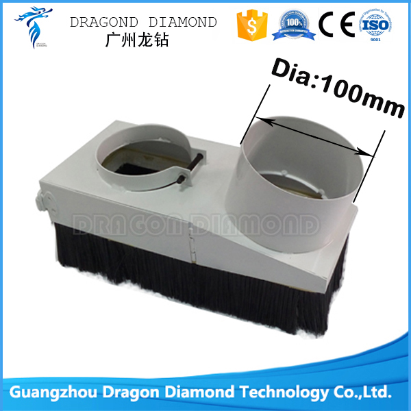 Vacuum Cleaner Engraving Machine Spindle Dust Cover For CNC Router With 100mm  цены