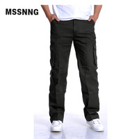 New Arrival Men Sport Pants Casual Military Camo Cargo Pants Leisure Cotton Trousers Army Loose Multi