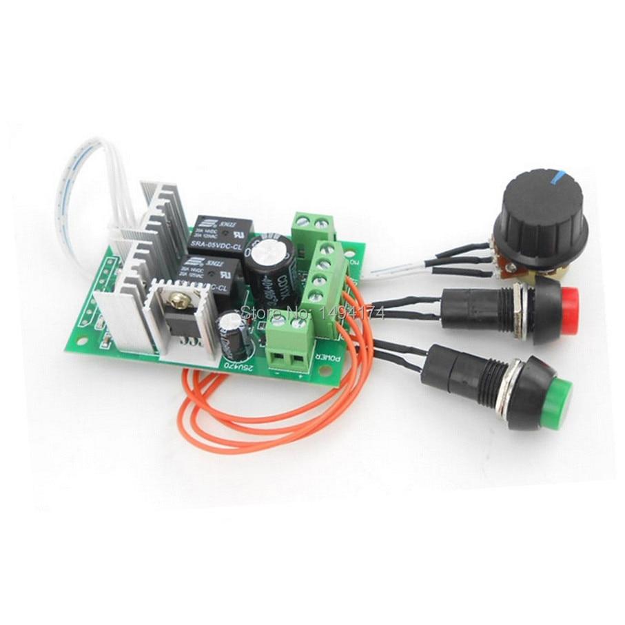 Case Digital Led Display Outstanding Features Computer & Office Wqscosea Q8s-240 Pwm Motor Speed Control Controller Switch Board 30a Dc 6-60v 6v 12v 24v 36v 48v 60v