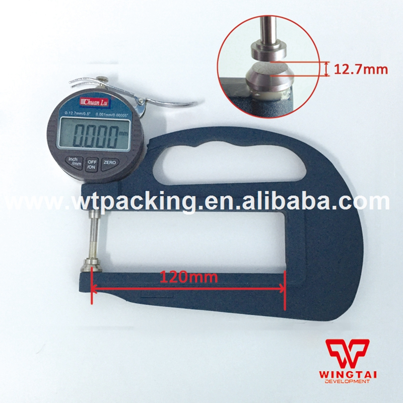 0.001mm Digital Micrometer Thickness Gauge Tester Thickness Meter Paper Leather Thickness Gauge exploit high precision 0 01mm profession digital lcd display thickness gauge meter paper leather fabric thickness tester