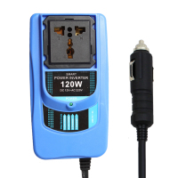 DC 12V To AC 220V Car Inverter DC 12V Plug Converter Auto Inverter 200W Power Adapter
