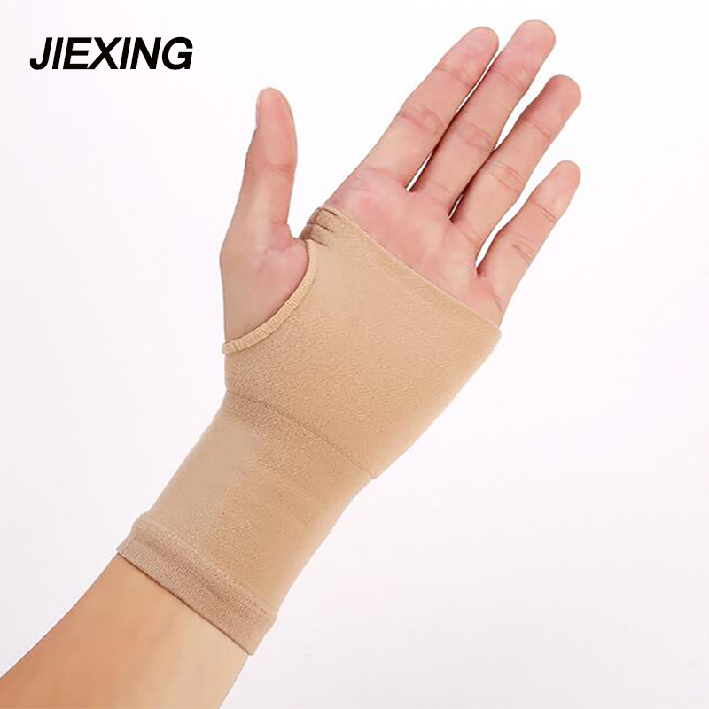 1 pair High elastic wristband  Half Gloves badminton tenis volleyball cycling wrist guard Hand support gloves gym  protecter
