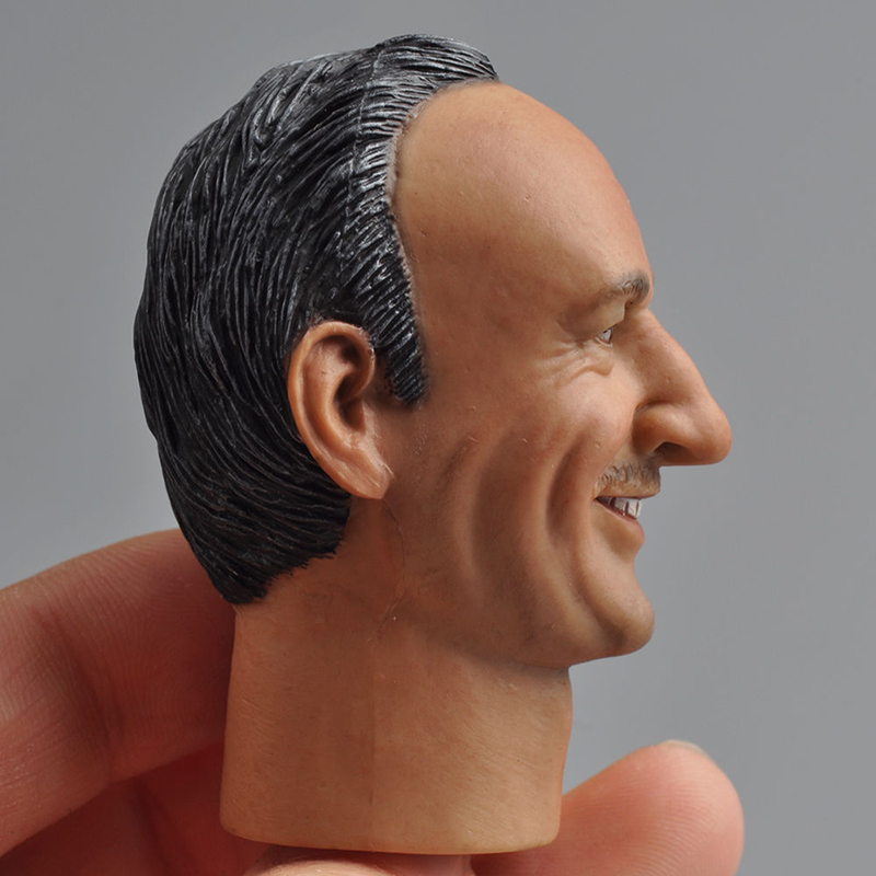 1/6 Soldier Male Delicate Male Headdrilling Gene Hackman Engraving Model HP-0044 Male 12 Action Figure