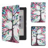 2016 New Folio Stand Cover Protective Skin Case for Kobo Aura Edition 2 6'' Ereader + Screen Protector Film + Stylus