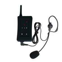 Vnetphone FBIM Referee Headset BT Intercom 1200M Wireless Bluetooth Interphone Full Duplex Walkie Talkie For Judges Directors