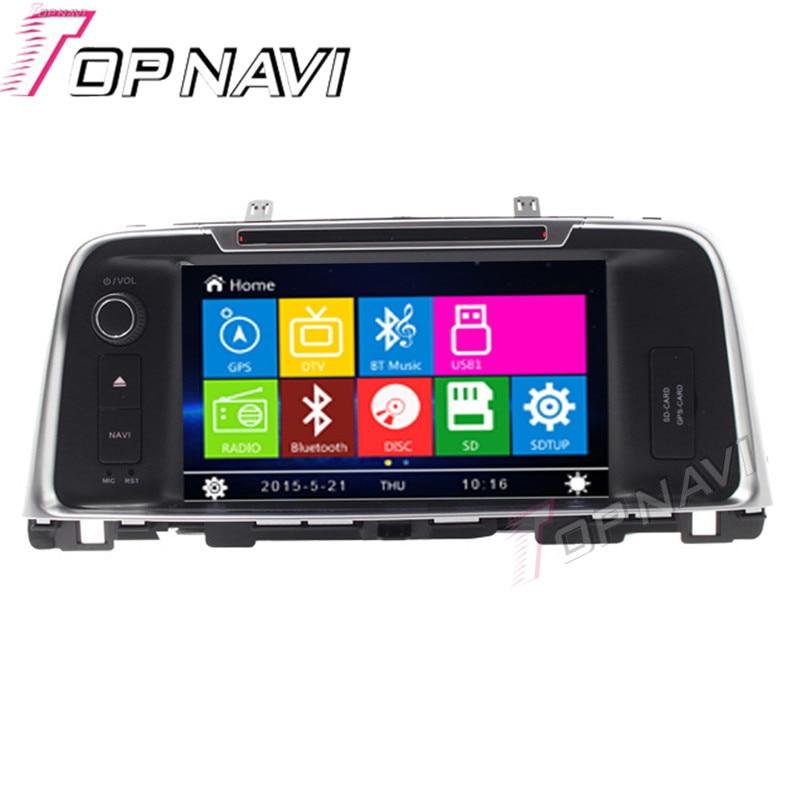 WANUSUAL 8 Car DVD GPS For KIA K5 2016 Car font b Radio b font Multimedia