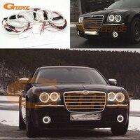 For Chrysler 300C 2004 2005 2008 2009 2010 Excellent 6 Pcs Smd Led Angel Eyes Super