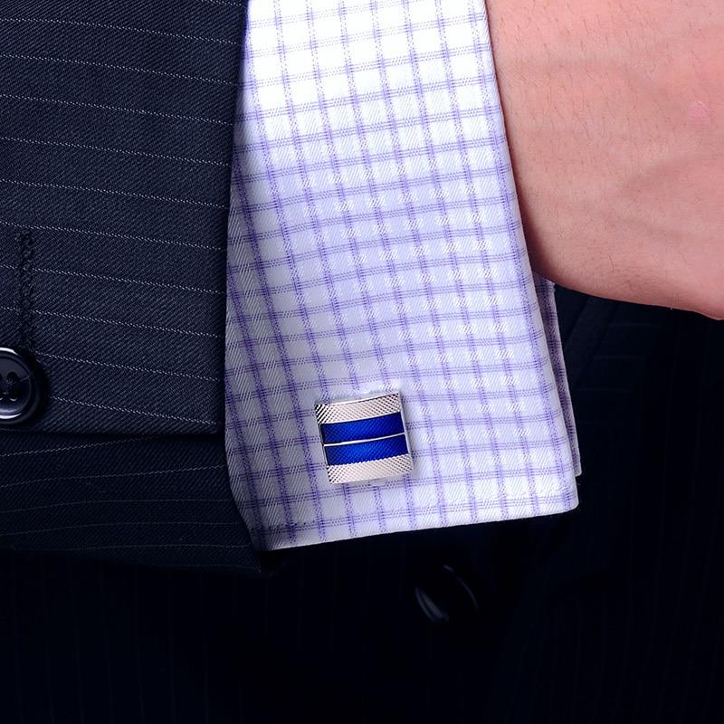 KFLK 2020 럭셔리 셔츠 커프스 망 선물 브랜드 커프스 - 패션 쥬얼리 - 사진 6