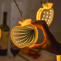 New Year Adornos De Navidad 3D Tree Star Shape Tunnel Led Light String Decorations for Home Christmas Ornaments Lamp Kerst Decor