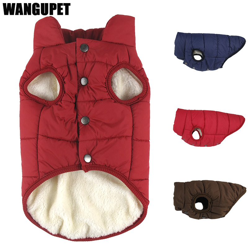 Winter pet coat clothes for dogs Winter clothing Warm Dog clothes for small dogs Christmas big