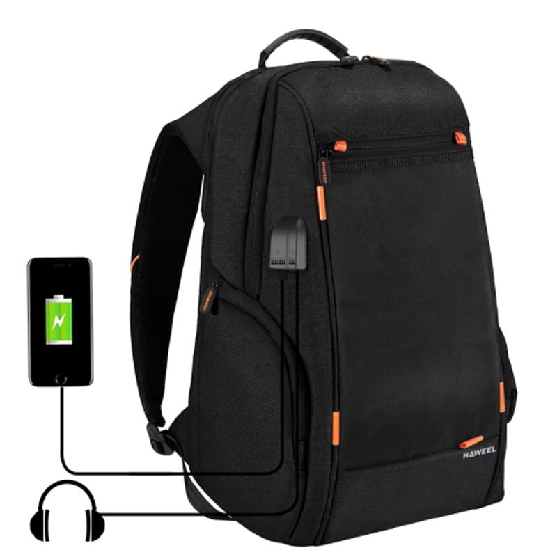 PULUZ Extérieure multi-fonction décontracté Sac Photo sac à dos pour ordinateur portable avec Chargement USB/Écouteurs Ports pour PRSDD-CA Caméra Accessoires