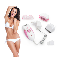Ms. Triple Multifunction Electric Shaver Shaving Armpit Hair Plucking Women Ladies Body Hair Removal Epilator Device