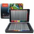 Металлический оловянный ящик  цветной карандаш для рисования  нетоксичный  бессвинцовый  36  48  60  72 цвета