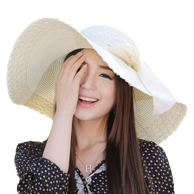 Straw Hat For Beach