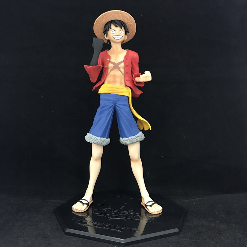 Action & Toy Figures One Piece Luffy Action Figure 1/8 Scale Painted Figure Haoushoku Haki Monkey D Luffy Pvc Figure Toy Brinquedos Anime