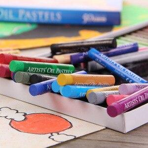Image 4 - Set de 50 lápices de colores Pastel para niños, Set de lápices de colores Pastel, tiza Pastelli, papelería escolar