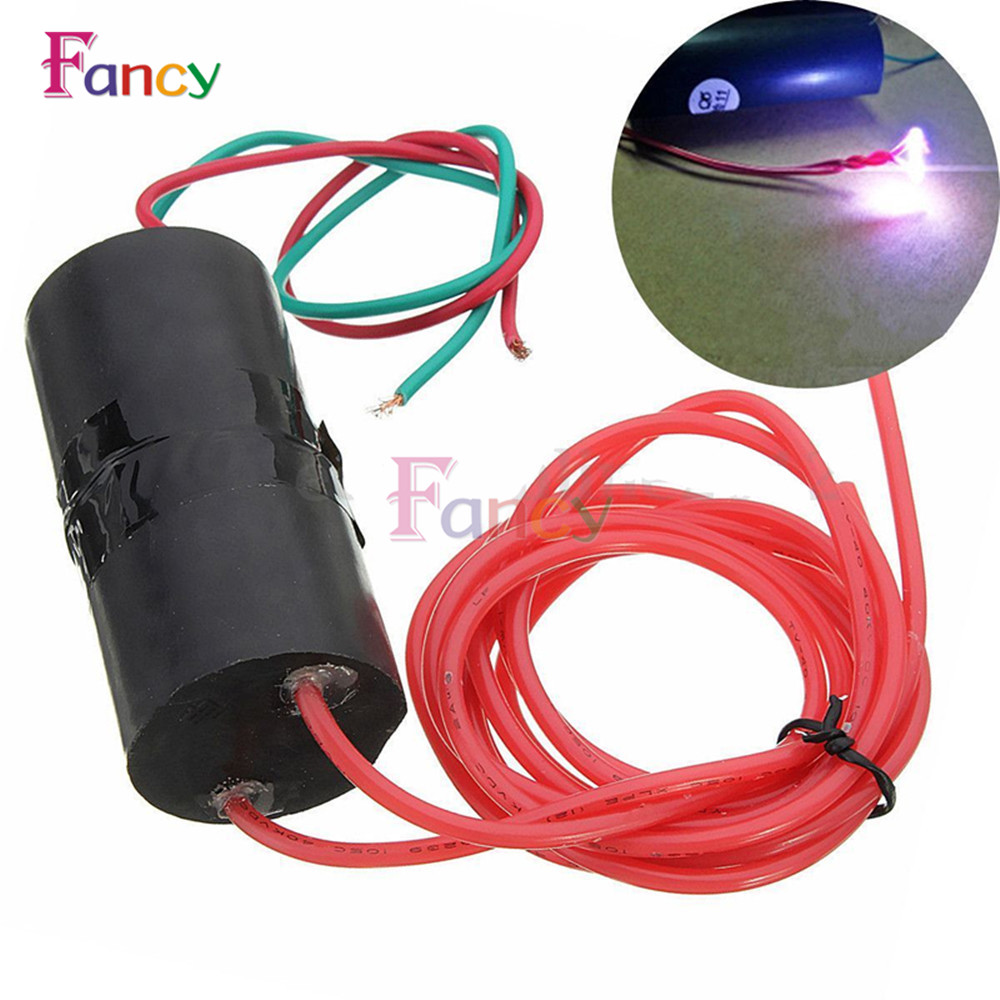 New 500KV 500000V Boost Step Up High-voltage Generator Ignition Coil Pulse Power Module Igniter DC 6V-12V