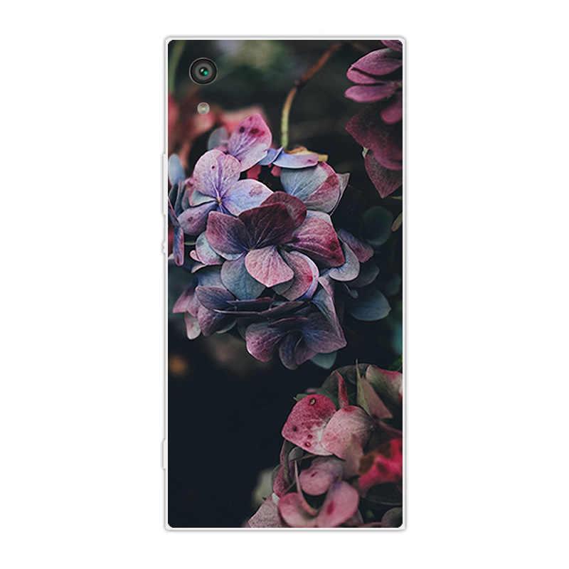 עבור Sony Xperia XA1 המרכזי בחזרה כיסוי Ultra 6.0 inch עבור Sony Xperia X A1 אולטרה רך TPU סיליקון טלפון מעטפת שקוף