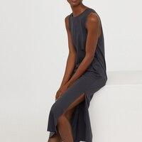 SISULI 100% чистого натурального шелка крепдешин ткань платье Для женщин Офисные женские туфли длинное платье 2018 Для женщин Летняя одежда Вечер