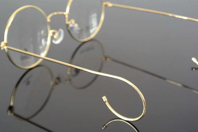 950f79a1e5f Online Shop Oversize Vintage Round Eyeglass Frames 48 mm Wire Rim John  Lennon Steve Jobs Harry Potter Glasses Full Rim Rx able